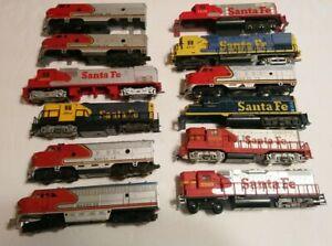 Life Like/Tyco/AHM etc HO Train Lot 12 Diesel Locomotives For Parts/Repair C-1