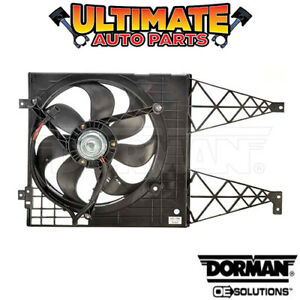 Radiator Cooling Fan (2.0L 4 Cylinder) Non-A/C for 03-05 Volkswagen VW Golf