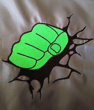 Personalised Incredible Hulk Punch Gym/School/Pe/Swim Drawstring Bag