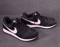 SB749 NIKE MD Runner 2 Damen Sneaker Sportschuhe Gr. 39 schwarz rosa weiß Leder