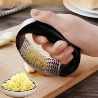 Stainless Steel Manual Garlic Press Crusher Squeezer Tool Masher Kitchen Tools