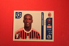 PANINI CHAMPIONS LEAGUE 2011/12 N 510 SEEDORF MILAN WITH BLACK BACK MINT!!