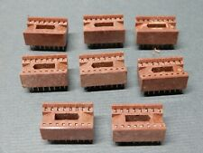 Unknown Brand 16 Pin Ic Sockets Qty 8 Nos Tall