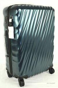 Tumi 19 Degree 4-Wheel Spinner Short Trip Packing Case Glacier Blue Ret: $655