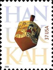 2004 37c Hanukkah, Dreidel Scott 3880 Mint F/VF NH