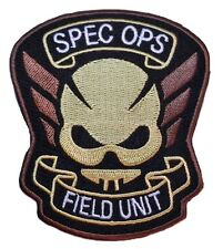 Resident Evil Spec Ops Field Unit Logo Iron-on/Sew-on Embroidered PATCH