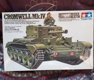 1/35 Tamiya Cromwell  tank Model Kit partially made