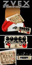 ZVex Hand Painted, The 20th Anniversary Fuzz Factory, Only 25 made, 2nd Edition.