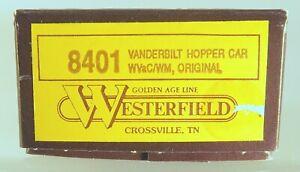 Westerfield Unassembled HO Scale KIT: WVaC/WM Vanderbilt Hopper One-Piece Body