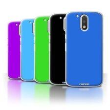 Fundas y carcasas Para Motorola Moto G4 color principal azul para teléfonos móviles y PDAs Motorola