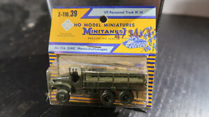 Roco CARDED HO Scale US Army Personnel Truck M 34