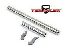 TeraFlex Heavy Duty Front Axle Sleeve Kit w/ Gussets for 07-18 Jeep Wrangler JK