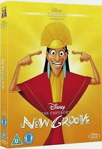The Emperor's New Groove DISNEY Blu Ray & LIMITED EDITION O RING SLIP COVER NEW
