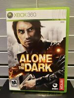 Alone in the Dark (Microsoft Xbox 360, 2008) Complete w/ Manual