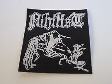 NIHILIST DEATH METAL EMBROIDERED PATCH