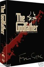 "THE GODFATHER TRILOGY THE COPPOLA RESTORATION 5 DISC DVD BOX SET R4 ""NEW&SEALED"""