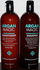 Argan Magic Shine Boosting Shampoo & Moisturizing Conditioner 32 oz each **