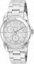 Invicta Angel Multi-Function Silver Dial Stainless Steel Horne Plastic 21699