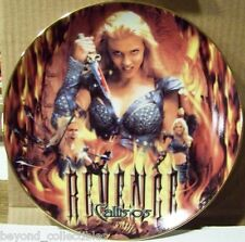 "XENA LIMITED EDITION COLLECTOR CHINA PLATE - ""CALLISTO'S REVENGE #79 OF 300"