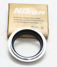 Nikon BR-2  Reverse Ring/Macro Adapter Ring for Bellows