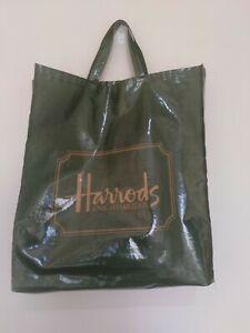 Harrods Knightbridge Green Large Tote Bag