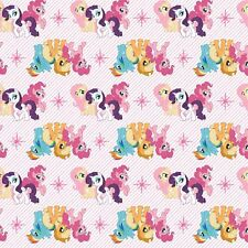 My Little Pony Fabric - Friends - White - 100% Cotton
