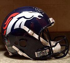 b23c7329872 Peyton Manning Signed BCA Game Issued Model Revo Pro Broncos NFL Game Helmet  FA