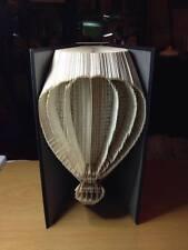 Hot Air Balloon. piegato LIBRO ARTE pieghevole PATTERN ONLY #2623