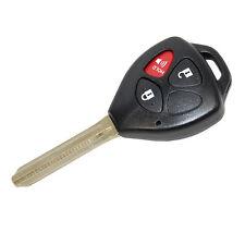 HQRP Carcasa con 3 botones para llave mando remoto Toyota RAV4 2006 2007 2008