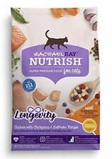 Rachael Ray Nutrish Longevity Premium Natural Dry Cat Food Chicken with Chick...