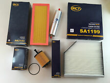 SCT GERMANY FILTER SET INSPEKTIONSSET / 4 x FILTER AUDI A4 B8 A5 8T Q5 8R