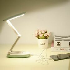 Folding 3-Layer Table Light Rechargeable Lamps Portable Nights Dimmer Desk Lamp
