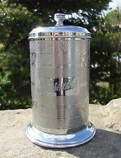 Vintage Chrome Preserves / Jam Storage Container - Tea Time - Kitchenalia - Good