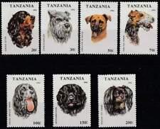 Tanzania postfris 1993 MNH 1599-1605 - Honden / Dogs