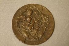 More details for pressed bronze plaque 'gloria in excelsis deo' designed by walter gilbert c.1910