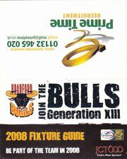 Fixture Card - Bradford Bulls 2008