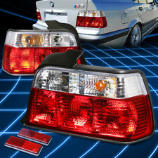 For BMW 92-98 E36 3-Series 4DR Chrome Full LED Rear 3rd Third Brake Tail Light