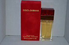 Dolce & Gabbana Red Eau De Toilette Spray 0.84oz New Boxed Unsealed