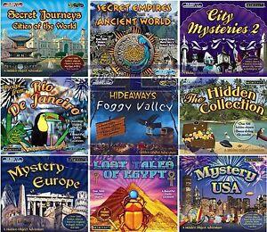 1000+ Hidden Object Adventure Games PC Windows XP Vista 7 8 10 MAC OSX 10.3-10.8