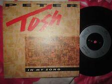 Peter Tosh – In My Song Parlophone – R 6156  UK 7inch Single Vinyl