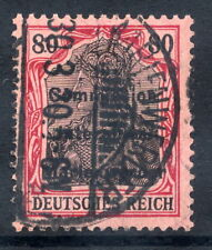 MARIENWERDER 1920 (27. March)  Overprint on Germany  80 Pf., used.