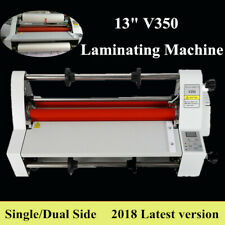 Thermal Roll Laminator Machine 13 Inch Electric Hot And Cold Laminating Machine