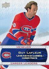 2008-09 Montreal Canadiens Centennial Career Leaders Guy Lafleur #238
