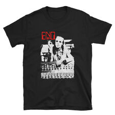 Brian Eno in the studio - limited edition classic black tribute t-shirt