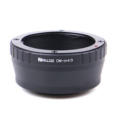 Dollice Olympus OM Mount Lens to Micro 4/3 M43 Adapter OM-D E-PL6 M1 P5 GF6 G6
