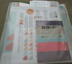 Creative Memories Cabana Power Palette System Scrapbook Kit NIP Paper Stickers