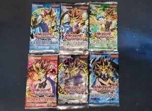 NEW YuGiOh LEGEND OF BLUE EYES WHITE DRAGON Sealed Booster 6 legendary packs