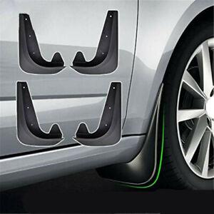 4Pcs/set Car Mud Flaps Splash Guards Front & Rear Fender Universal Accessories