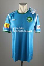 St. Gallen Trikot 2017-2018 Away S L XL FC SG NEU jersey blau Jako Shirt