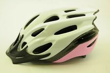 RALEIGH MISSION EVO CYCLE BIKE HELMET PINK/ WHITE LARGE 58- 62cm